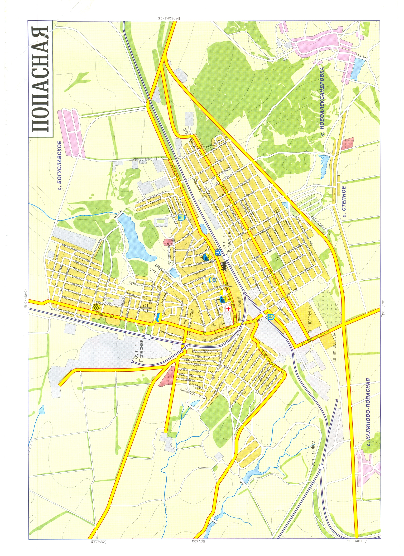 Артёмовск попасная карта
